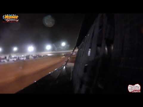 Chris Ferguson In Car Super Late Model Rome Speedway 5/26/19!