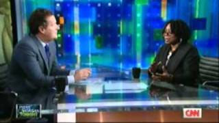 Whoopi GoldBerg@Piers Morgan Tonight Part 1
