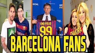 Top 25 Most Famous Celebrity Barcelona Fans