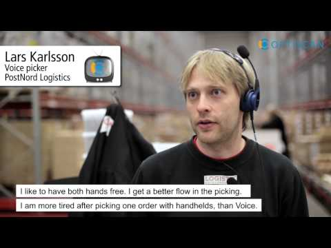 Case video: PostNord Logistics - English subtitles - Optiscan Group