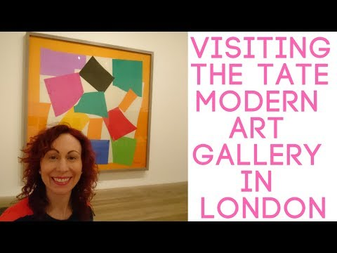 Visiting The Tate Modern Art Gallery In London