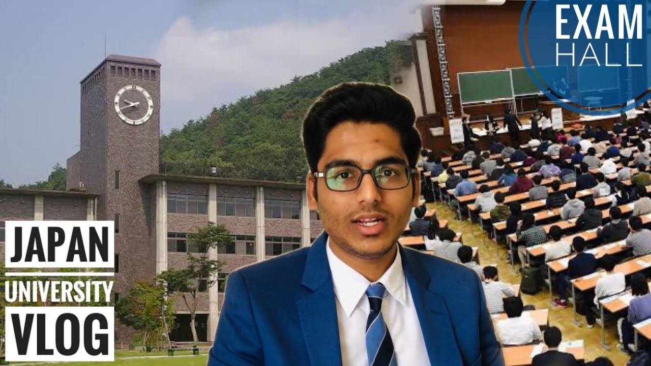 🎓Japan University Tour - 📚My Exam Day Vlog | Exam Hall | JLPT-N2 | LIJ - Tamil