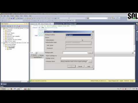 Deploying SSIS Packages Using SQL Server Management Studio