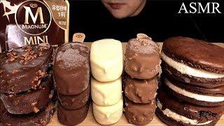 ASMR MAGNUM CHOCOLATE ICE CREA…