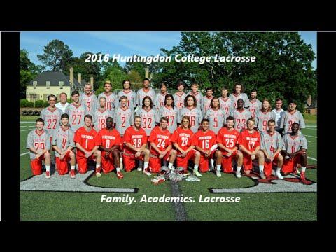 2016 Huntingdon College Lacrosse Highlights