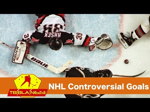 NHL Controversial Goals