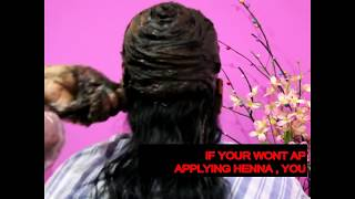 HENNA PREPARATION FOR HAIR GROWTH, CONDITIONING |BLACK|BURGUNDY|BROWN|TECHNIQUES |stop hairfall