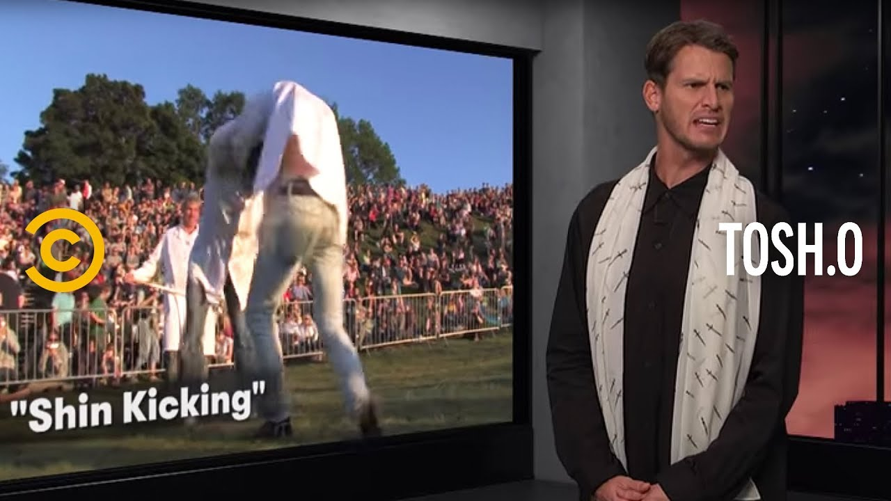 "Best ""Shin Kickings"" and ""Phlegm Battles"" Ever - Tosh.0"