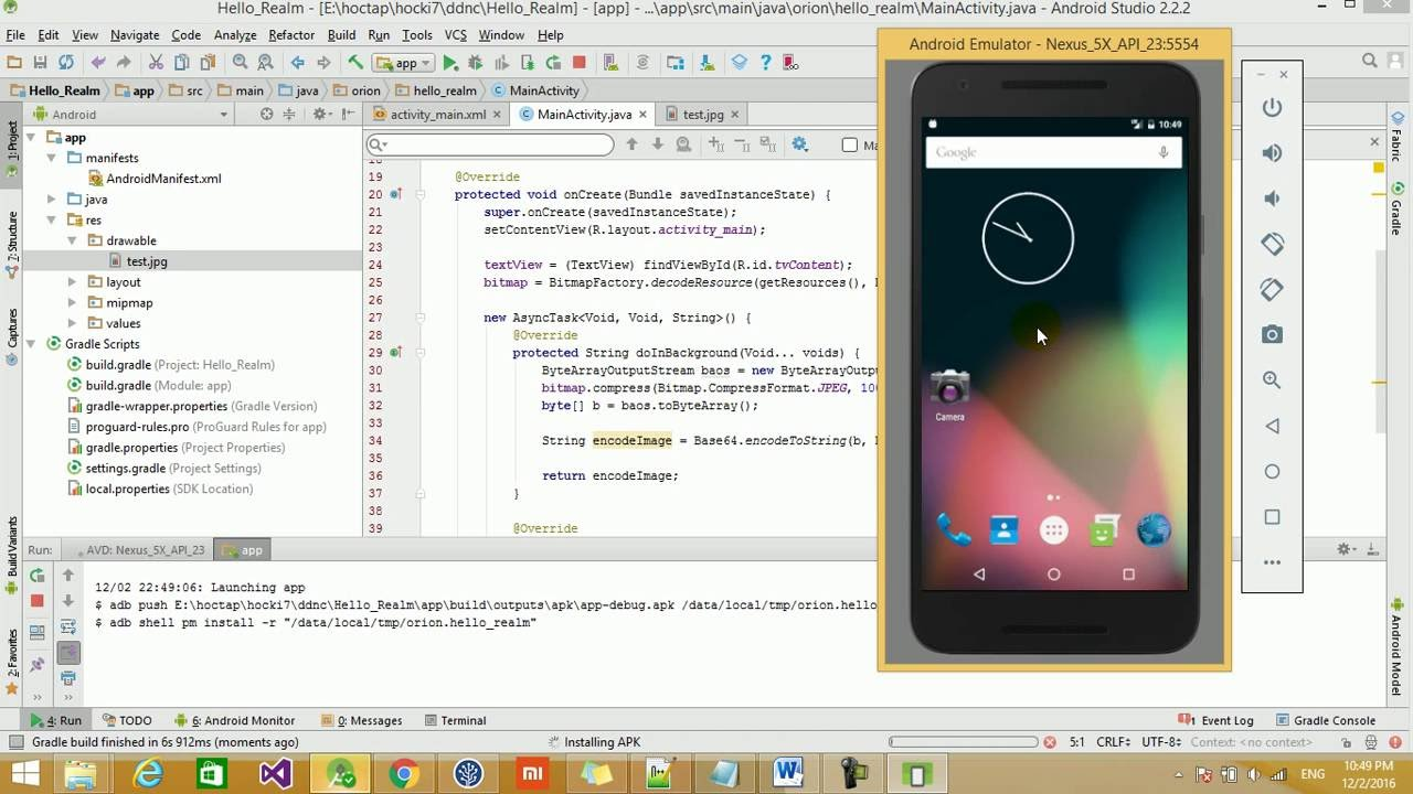 Covert a Bitmap to Base64 String Android, Java