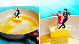 36 Fun Food Tricks    Butter, Banana, Noodles And Egg Ideas