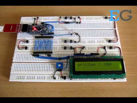How To Read And Write The EEPROM Of Arduino: Project with Circuit