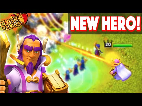 Clash of Clans NEW HERO! Town Hall 11 New Update Grand Warden!