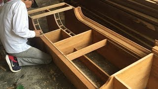 Amazing Tricks Woodworking Smart Technique - How To Building A New Kitchen Cabinets, DIY Thanks for watching, subscribe &