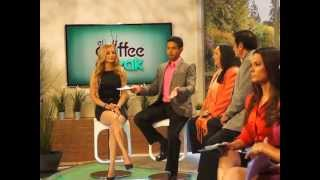BEHIND THE SCENES ENTREVISTA @ AZTECA AMERICA COFFEE BREAK PARTE2