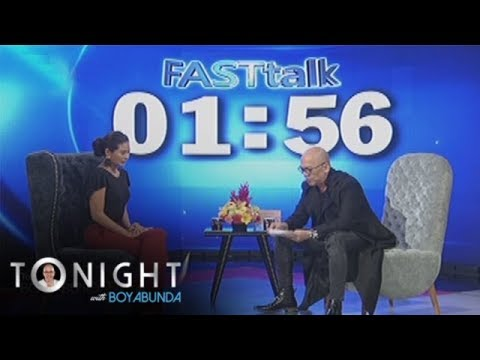 TWBA: Fast Talk with Maxine Medina
