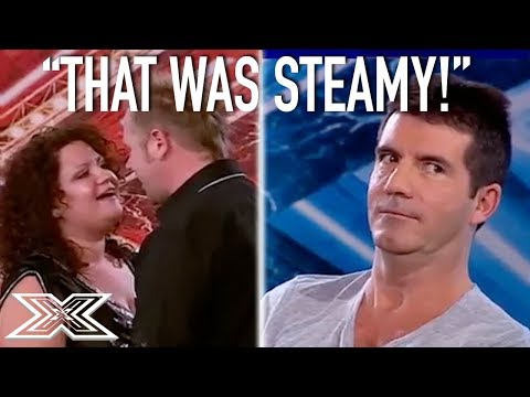 Couple Get Carried Away During Super Steamy Audition!   X Factor Global