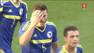 Milan Djuric - 2 goals Vs Denmark (Kirin cup 2016) 3-6-2016_720p-HD