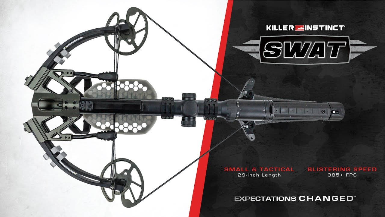 Swat By Killer Instinct Tactical Compact Powerful Crossbow