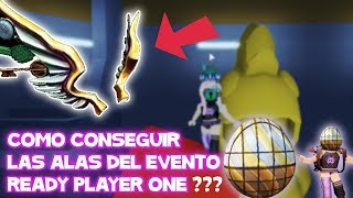 How to get the Wings of the Ready Player One Event in Egg Hunt 2018 Roblox in Spanish
