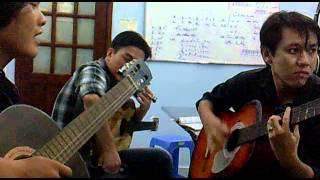 them mot lan yeu thuong guitar