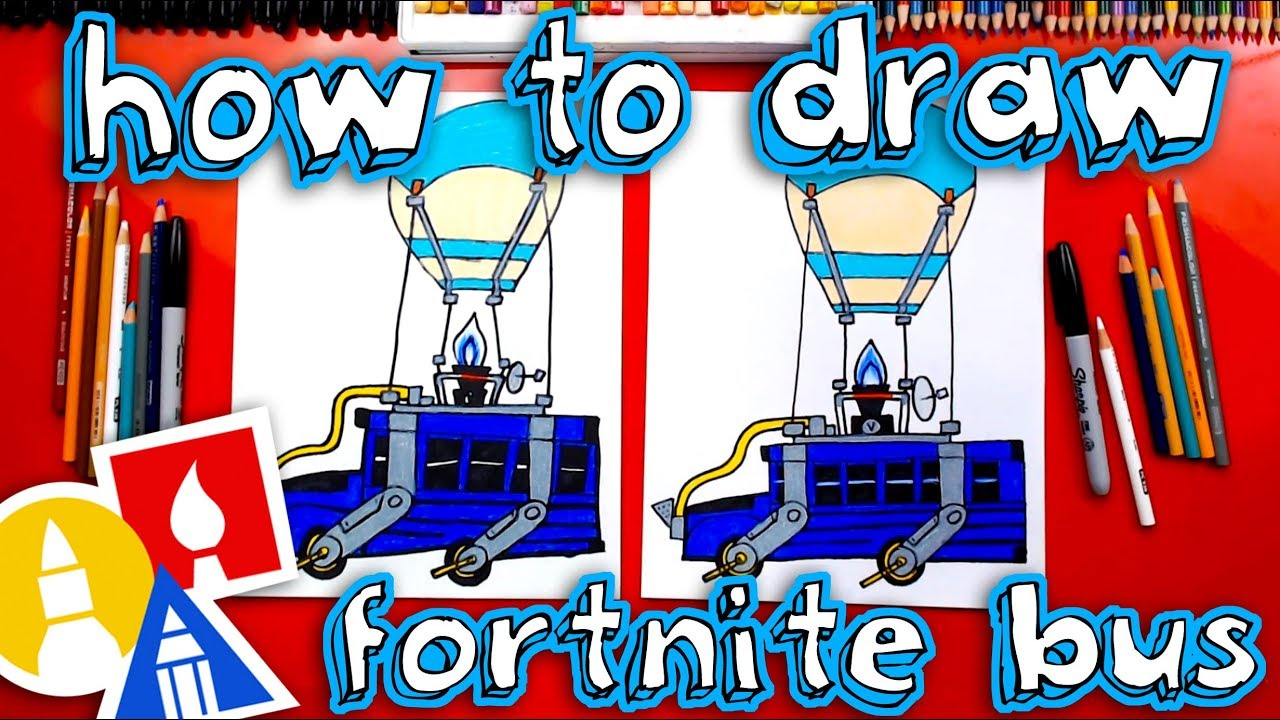 How To Draw The Fortnite Battle Bus