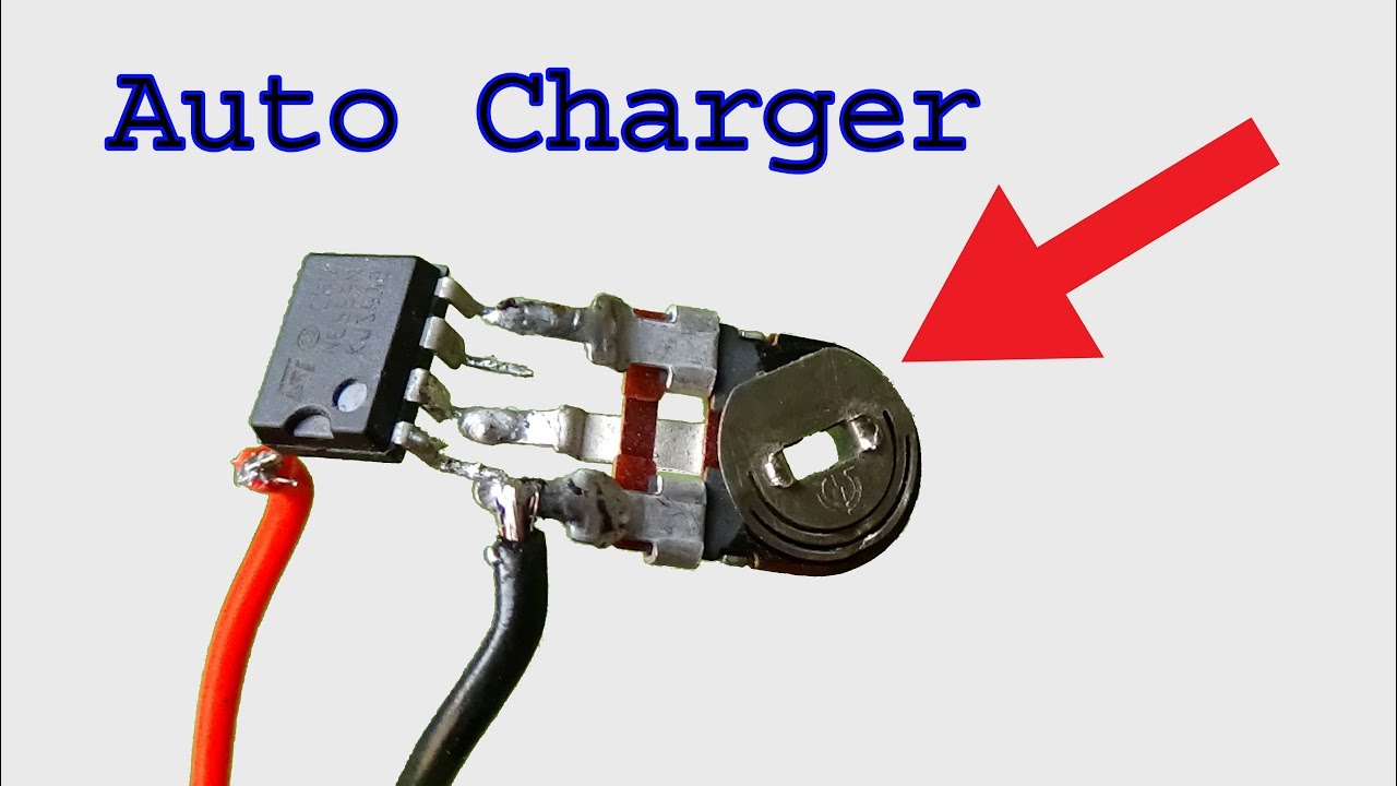 Make Auto Charging Controller For 4v Battery Using Ne555 Timer Ic 555 Do It Yourself