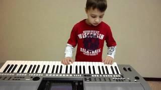 Синтезатор. Методика обучения с детьми 6 лет.