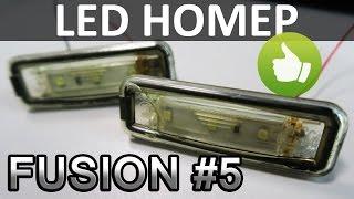 Замена ламп подсветки номера на светодиодную ленту. Ремонт подсветки номера
