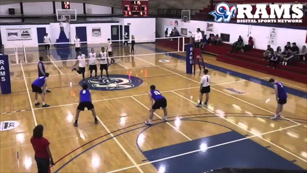 Bluefield College Mens Volleyball Highlight Youtube
