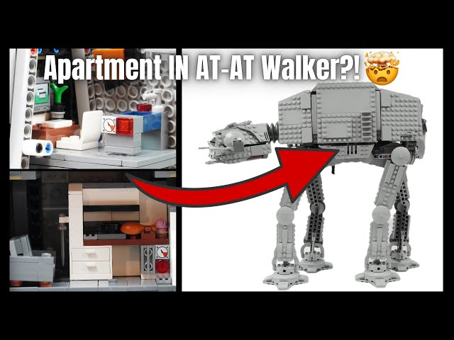 So verschönerst du [einfach] deinen At-At Walker | Lego Tutorial