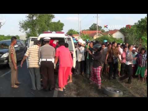 Kecelakaan Maut Di Sampang, 6 Orang Tewas Terbakar