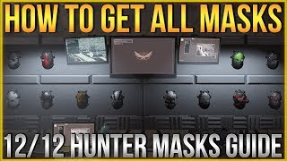 The Division 2 | How to get ALL Hunter Masks! 12/12 Guide