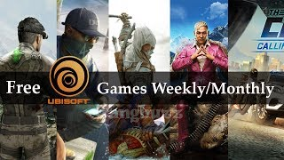 Free Ubisoft Games - How To Create Uplay Account & Play Ubisoft Games | Free and Legally |