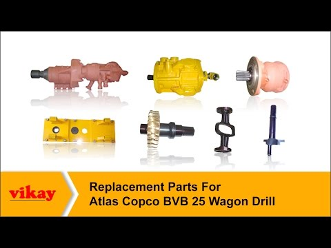 Replacement Parts For Atlas Copco Wagon Drill Model Bvb-25