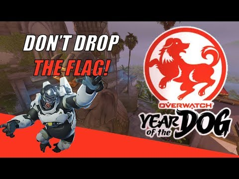 What Will Make You Drop The Flag in Overwatch CTF? | Overwatch Year of the Dog Event