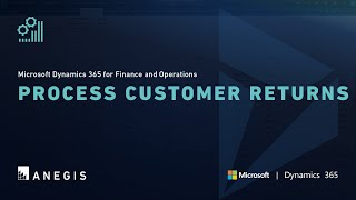 Dynamics 365 Operations: Process Customer Returns