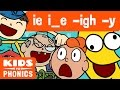 IE I-E -IGH  -Y | Similar Sounds | Sounds Alike | How to Read | Made by Kids vs Phonics