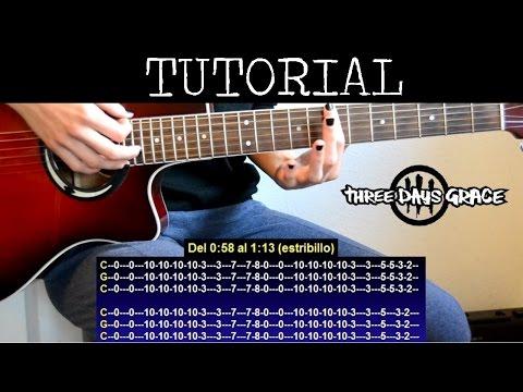 Como tocar Animal I Have Become de Three Days Grace / How to play