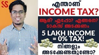 ശരിക്കും എന്താണ് INCOME TAX? Income Tax Slabs & Calculation Explained FY 2019-20 | Malayalam Finance