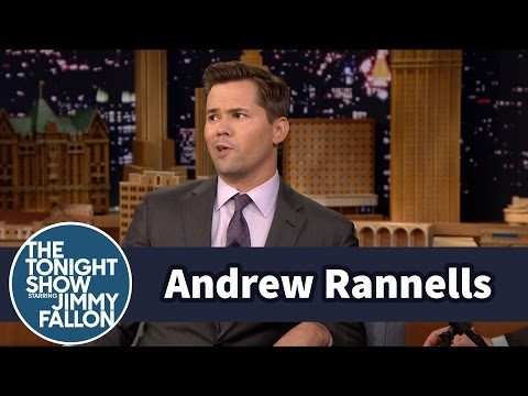 Andrew Rannells Couldn't Stop Swearing at Robert De Niro