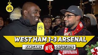 West Ham 1-3 Arsenal | Aubameyang Stepped Up Like A True Captain! (Fan From Canada)