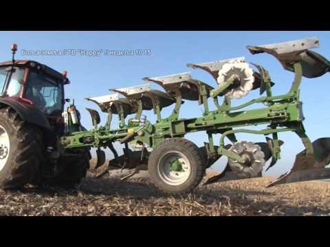 Zestoko moderno oranje  - kakva kombinacija traktora i pluga - Valtra i Amazone