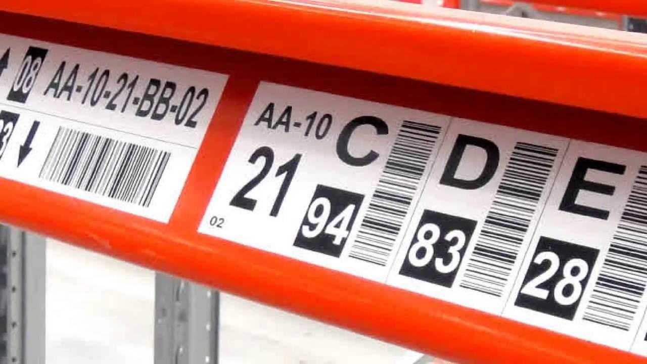 Warehouse Labels for Inventory Control in Warehouse Facilities - ASG