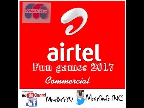 Free Airtel Fun games 2017 commercial
