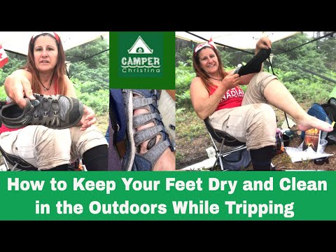 HOW TO KEEP YOUR FEET DRY AND CLEAN IN THE OUTDOORS | WHILE CANOE TRIPPING | KEEN FOOTWEAR