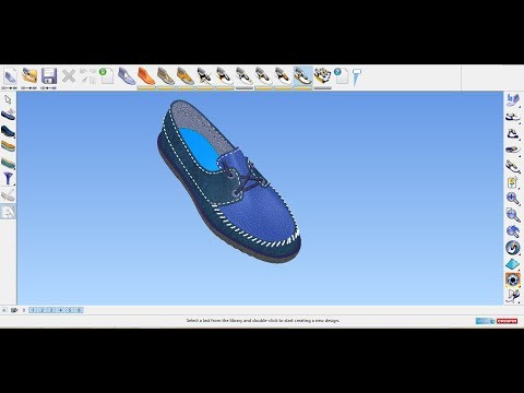 HOW to prepare Moccasin shoe by Delcam Crispin Shoemaker