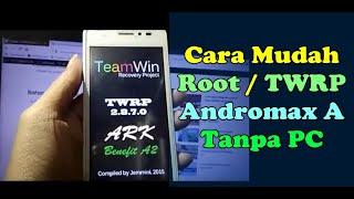 Cara Root via Magisk dan install TWRP Andromax A 2019