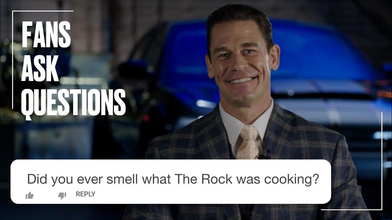 John Cena Answers Your Questions   FAQ   @LADbible TV
