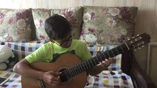 """Hotel California"" на гитаре (guitar cover)"