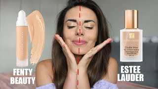 TEST PODKŁADÓW 12H: Fenty Beauty by Rihanna vs Estee Lauder Doule Wear